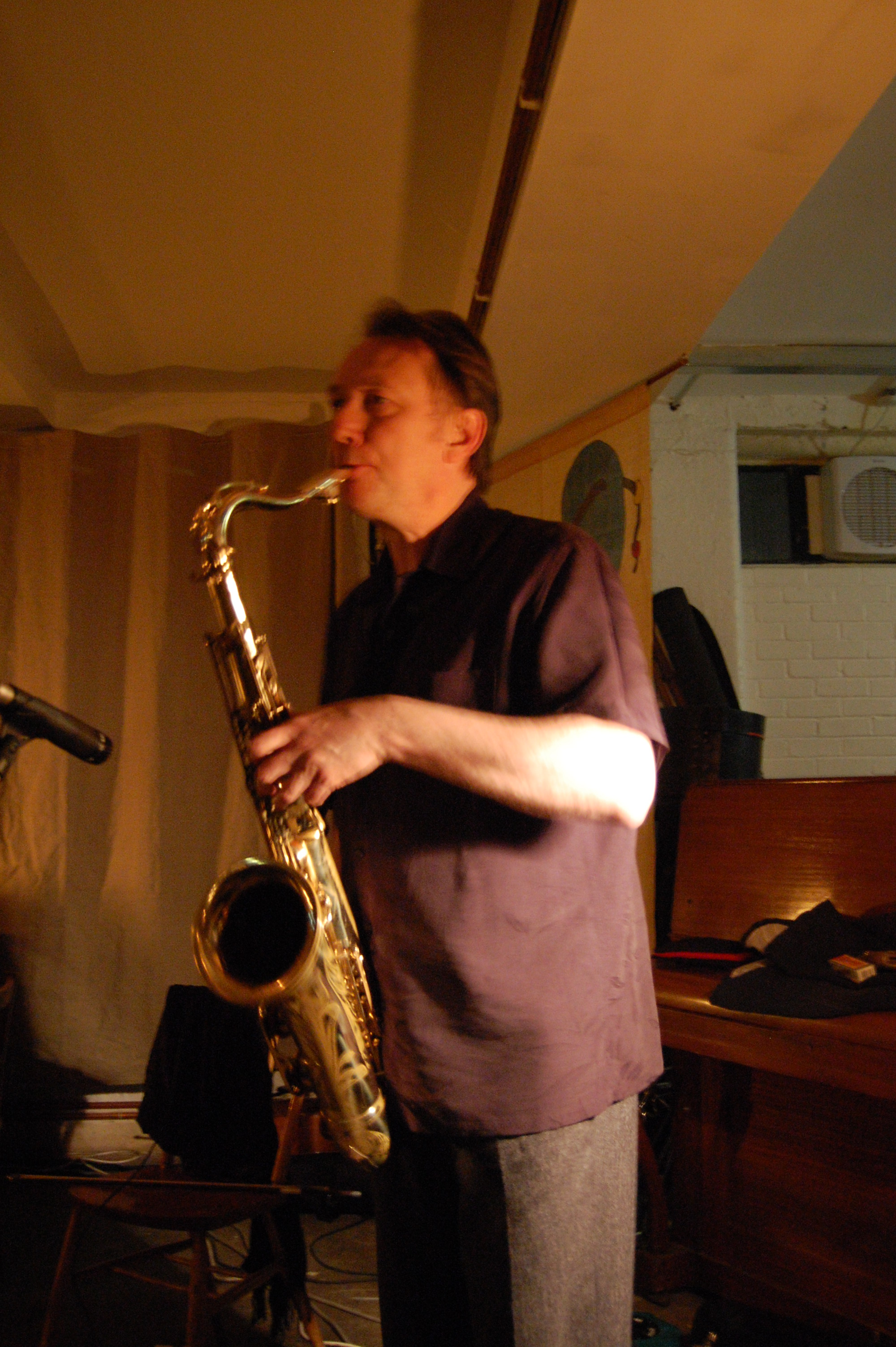 John Butcher at Cafe Oto London