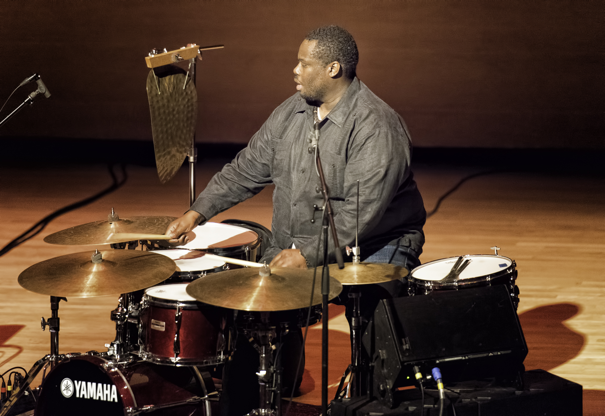 Johnathan Blake with the Dr. Lonnie Smith Trio At The Musical Instrument Museum (MIM) In Phoenix