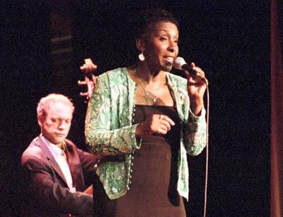 Elaine Delmar 1423729 Underground Theatre, Eastbourne, UK. Images of Jazz