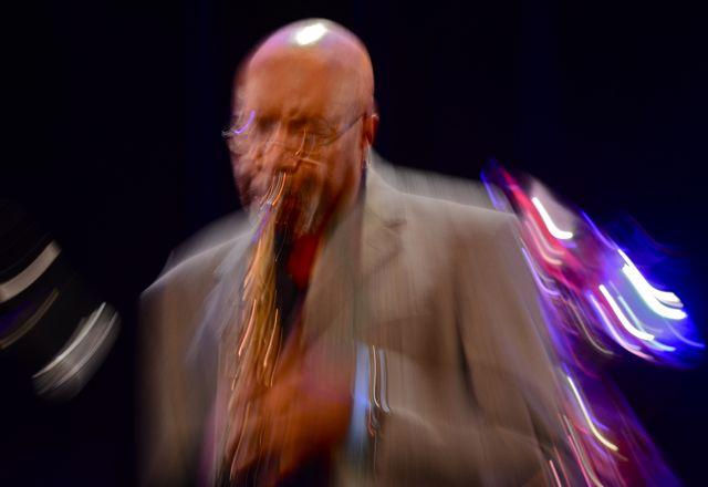Oliver Lake, Arthur Blythe Benefit Concert, Angel City Jazz Fest, 2014