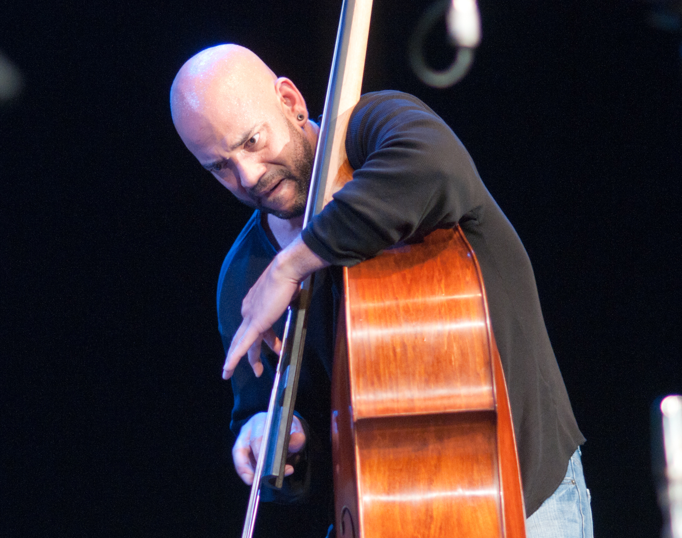 Eric Revis with Peter Brotzmann's Quartet at the Vision Festival 2011