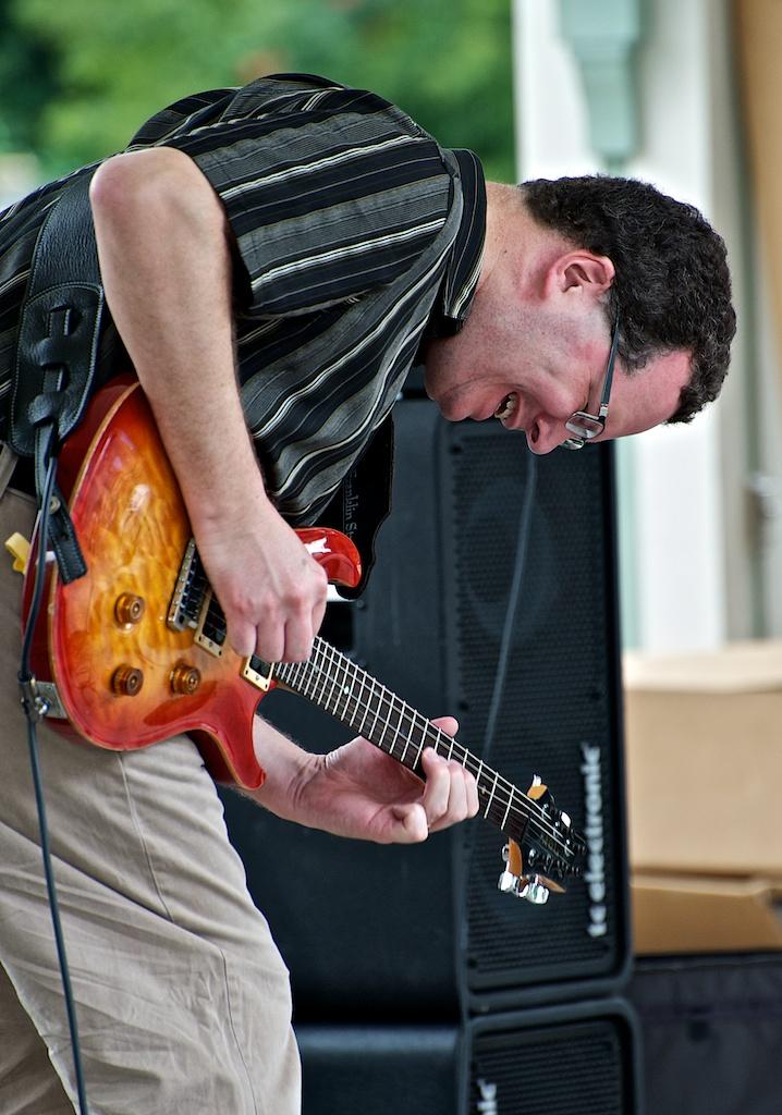 Pete McCann with Chris Tarry Group - Markham Jazz Festival 2011