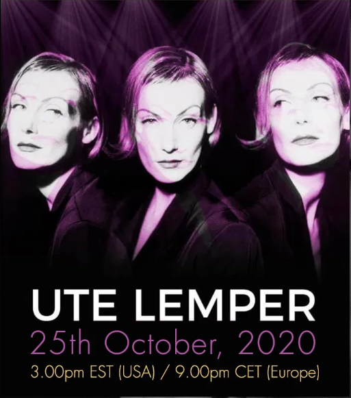 Ute Lemper Will Perform 'Rendezvous With Marlene' Virtually In Its Entirety On Dreamstage on October 25