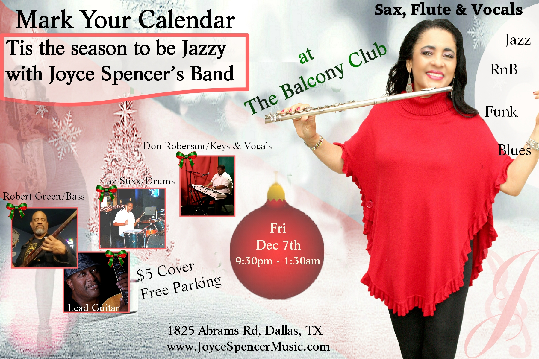 Joyce Spencer's Band (jazz & Rnb)