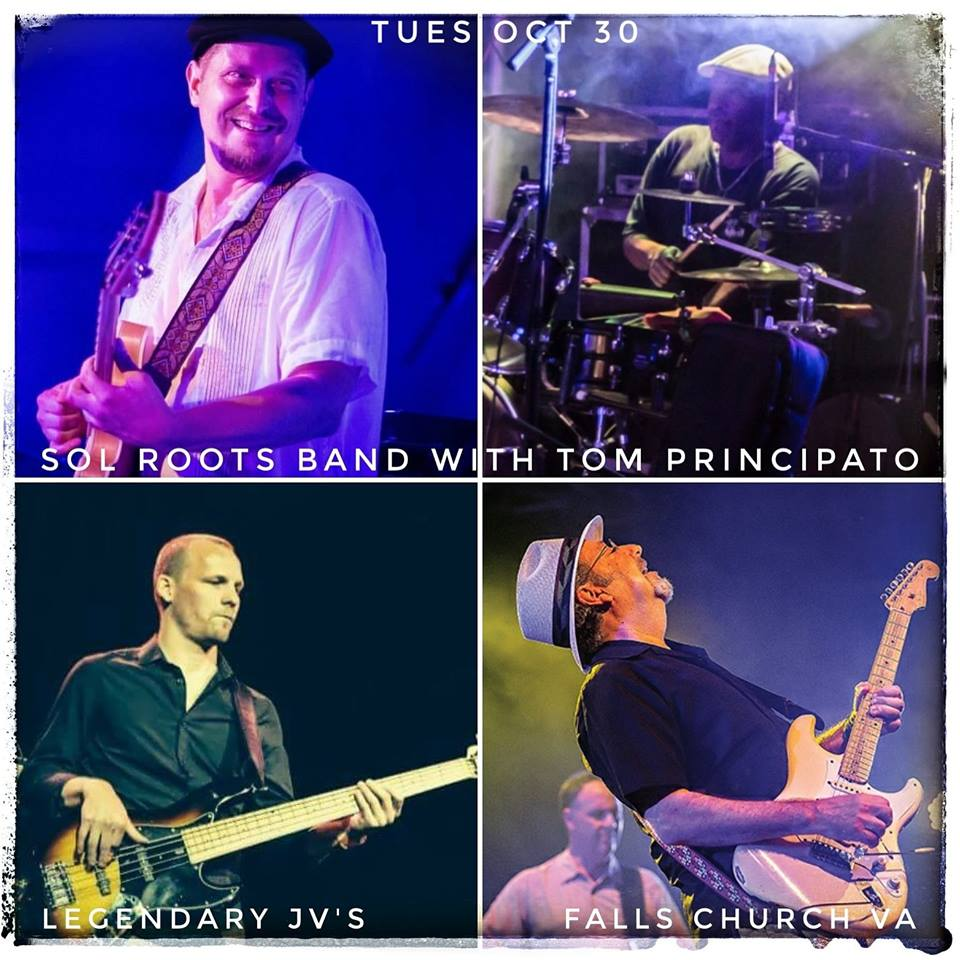 Sol Roots Band With Special Guest Tom Principato