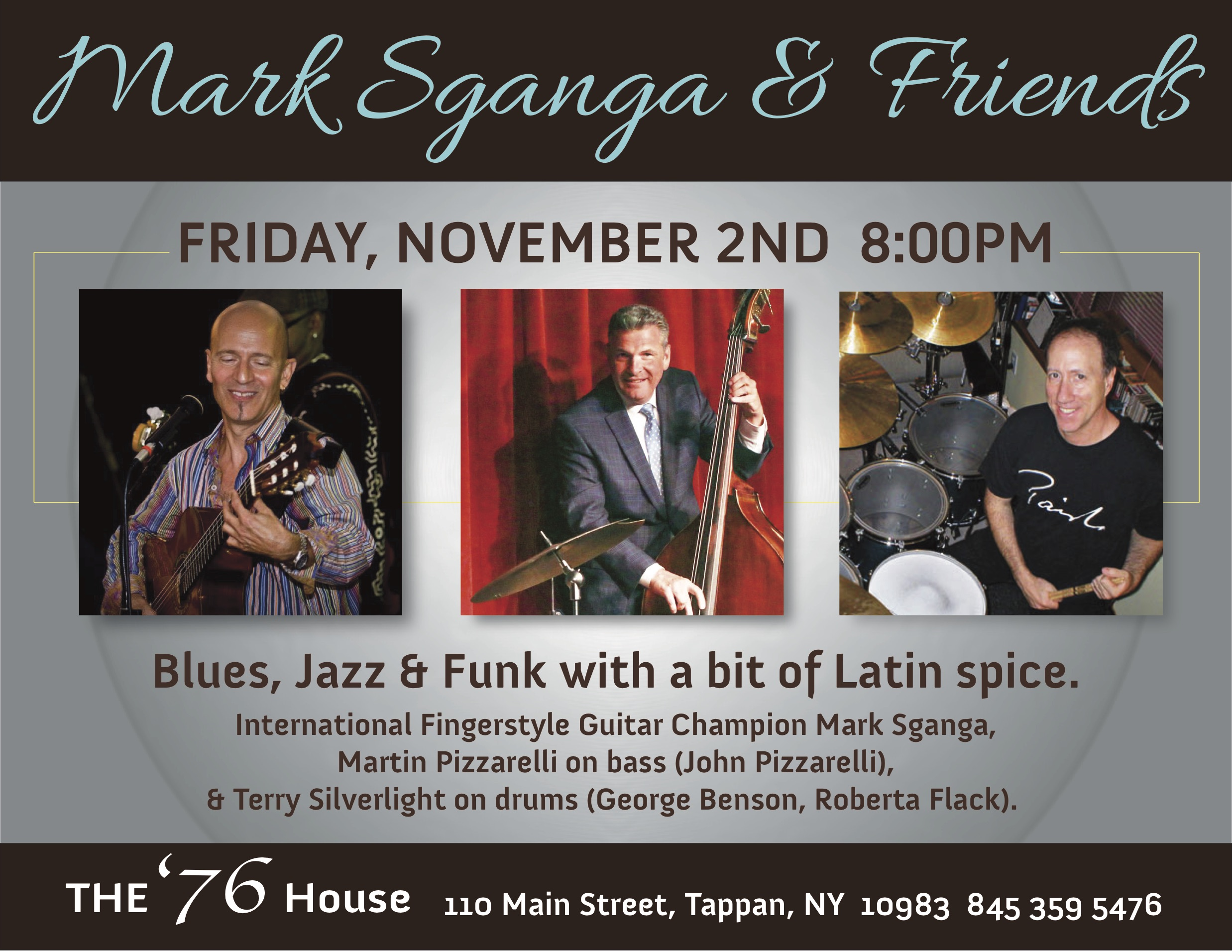 Mark Sganga Bossa Nova, Blues & Beyond!