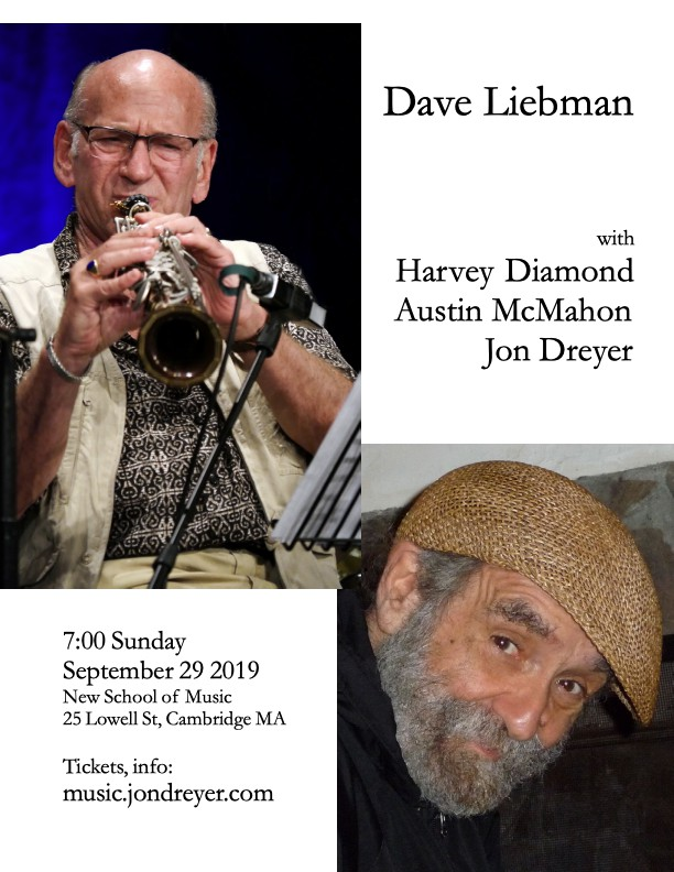 Dave Liebman with Harvey Diamond