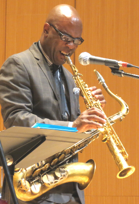 Tim Warfield Jr. with Terrell Stafford Quintet, Michigan State University, October 30, 2012