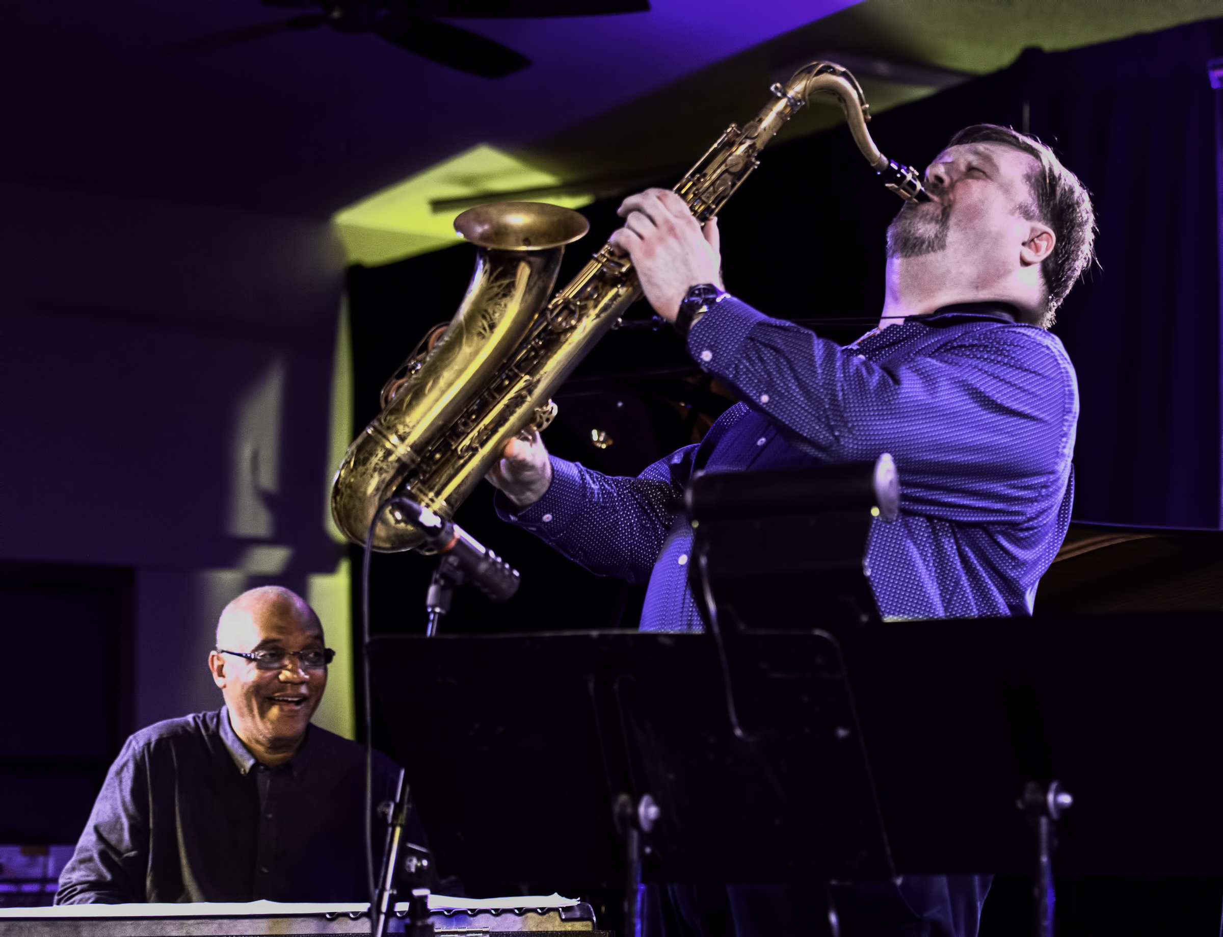 Billy Childs and Joel Frahm 90th Birthday Party Tribute to Stan Getz at the Monterey Jazz Festival