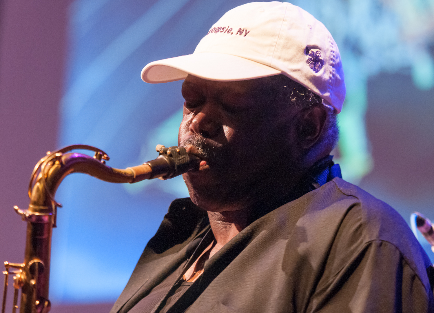 Joe McPhee with Angels, Devils and Haints II at the Vision Festival