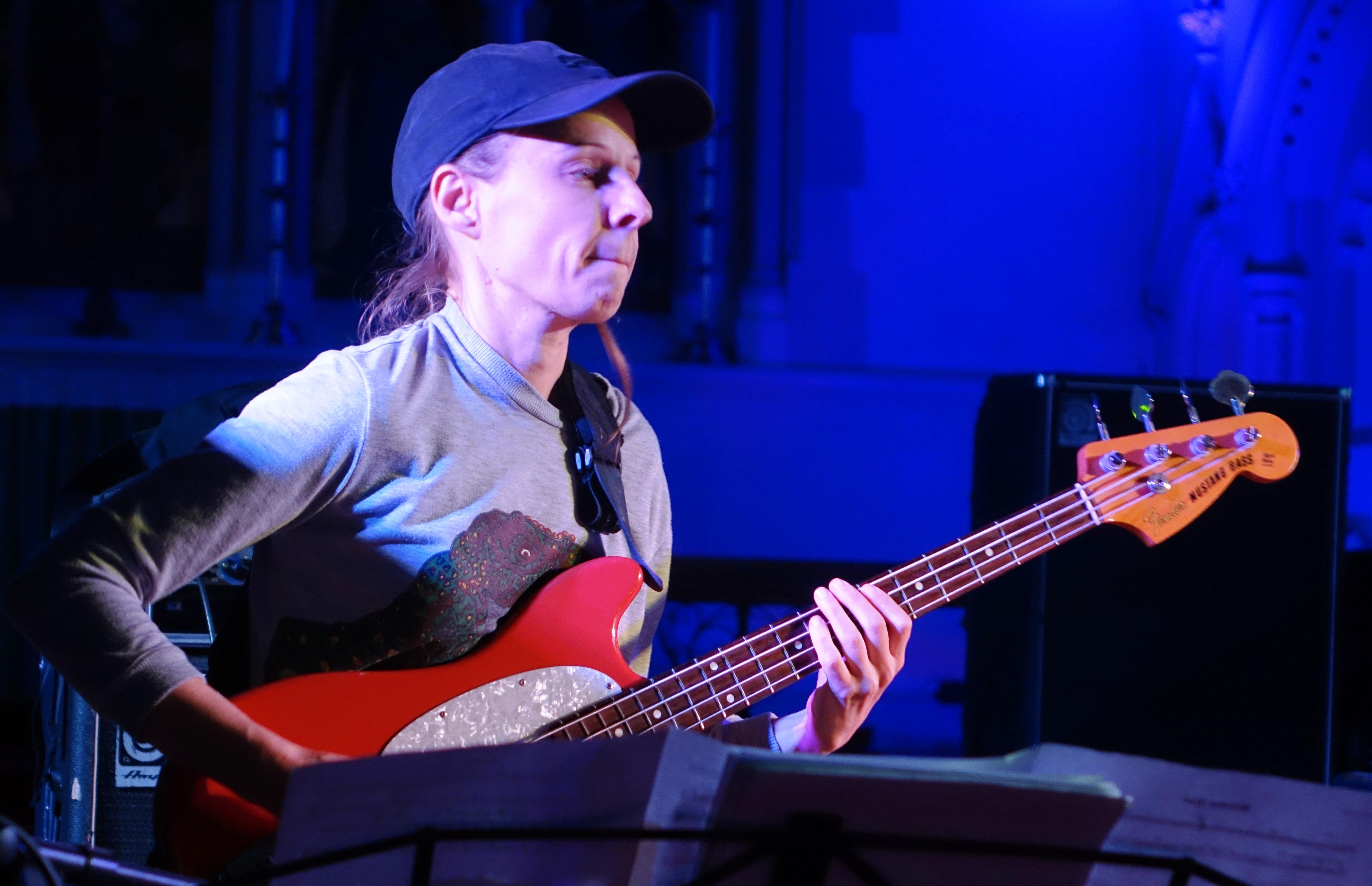 Ruth Goller at Brighton Alternative Jazz Festival in October 2018