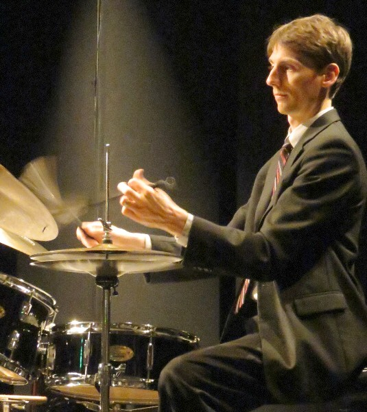 Austin McMahon with Jamie Ousley Trio, Norton Museum of Art, West Palm Beach, 2/2/12