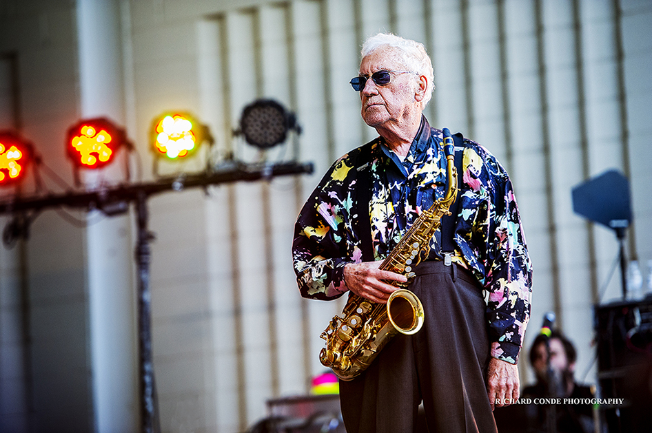Lee Konitz at the 2017 Charlie Parker Jazz Festival