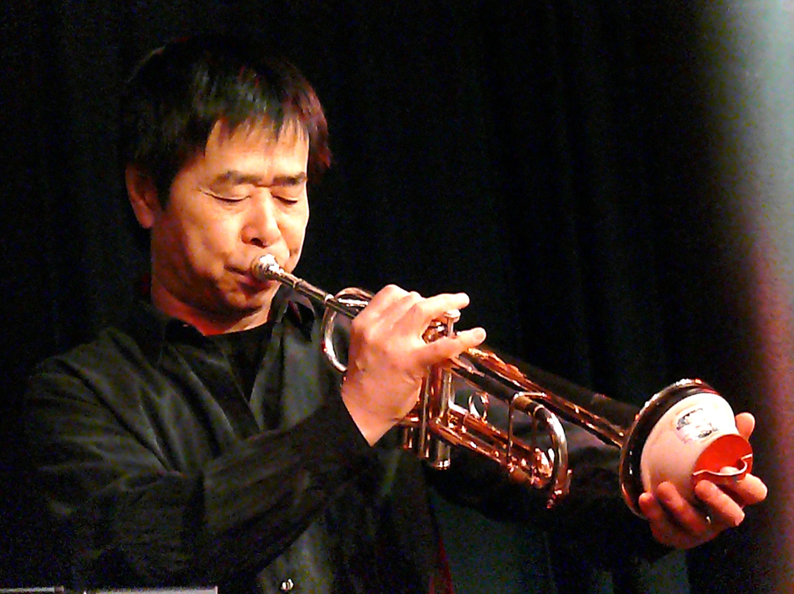 Natsuki Tamura at the Vortex, London, April 2010