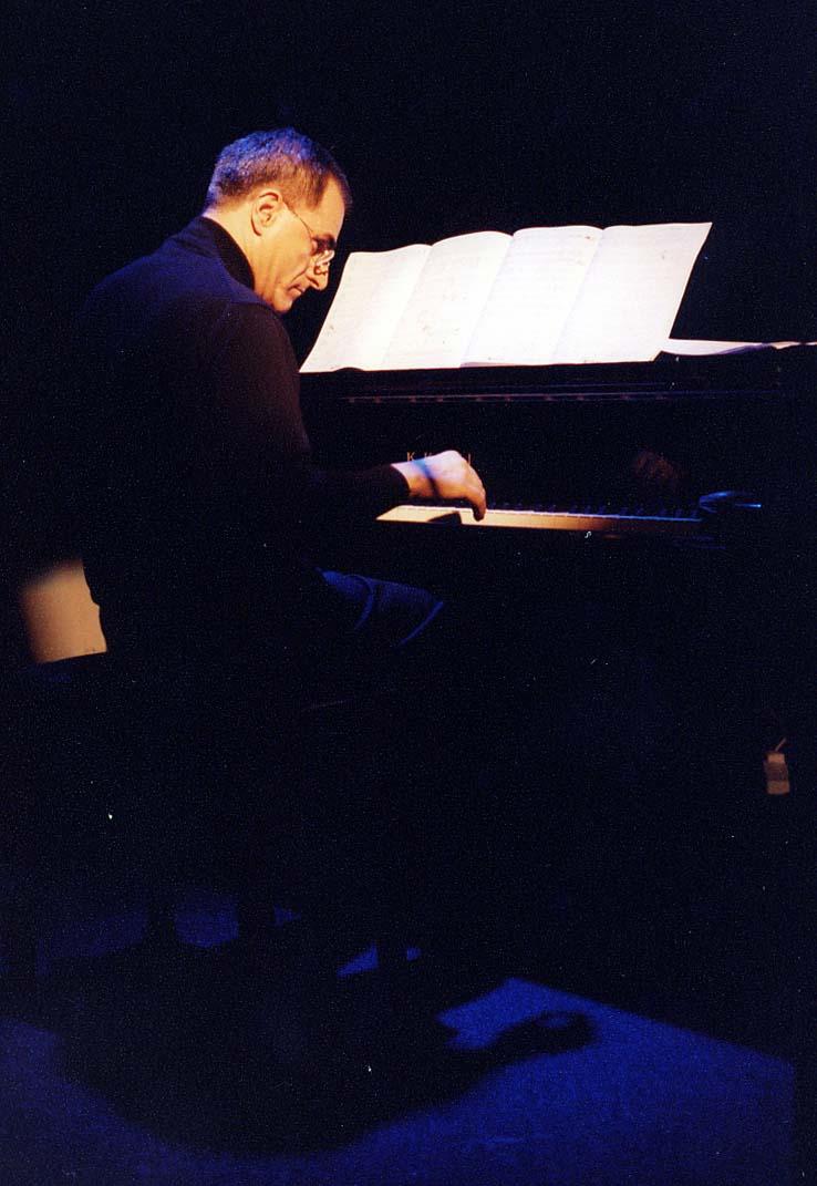 Enrico Pieranunzi at Triskel Arts Centre, Cork, October 2005