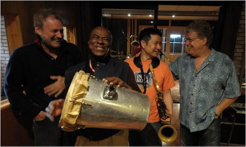 Recording with Nilson Matta, Cafe da Silva, Romero Lubambo