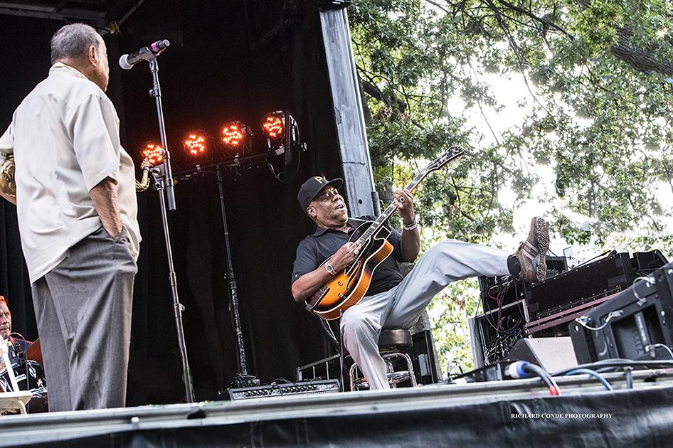 Lou Donaldson at the 2017 Charlie Parker Jazz Festival
