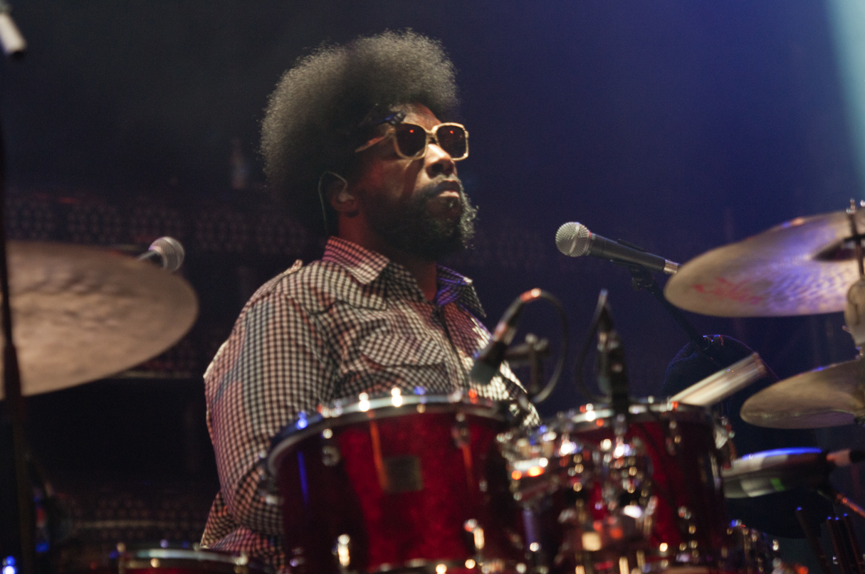 ?Uestlove with the Roots at the Montreal International Jazz Festival 2011