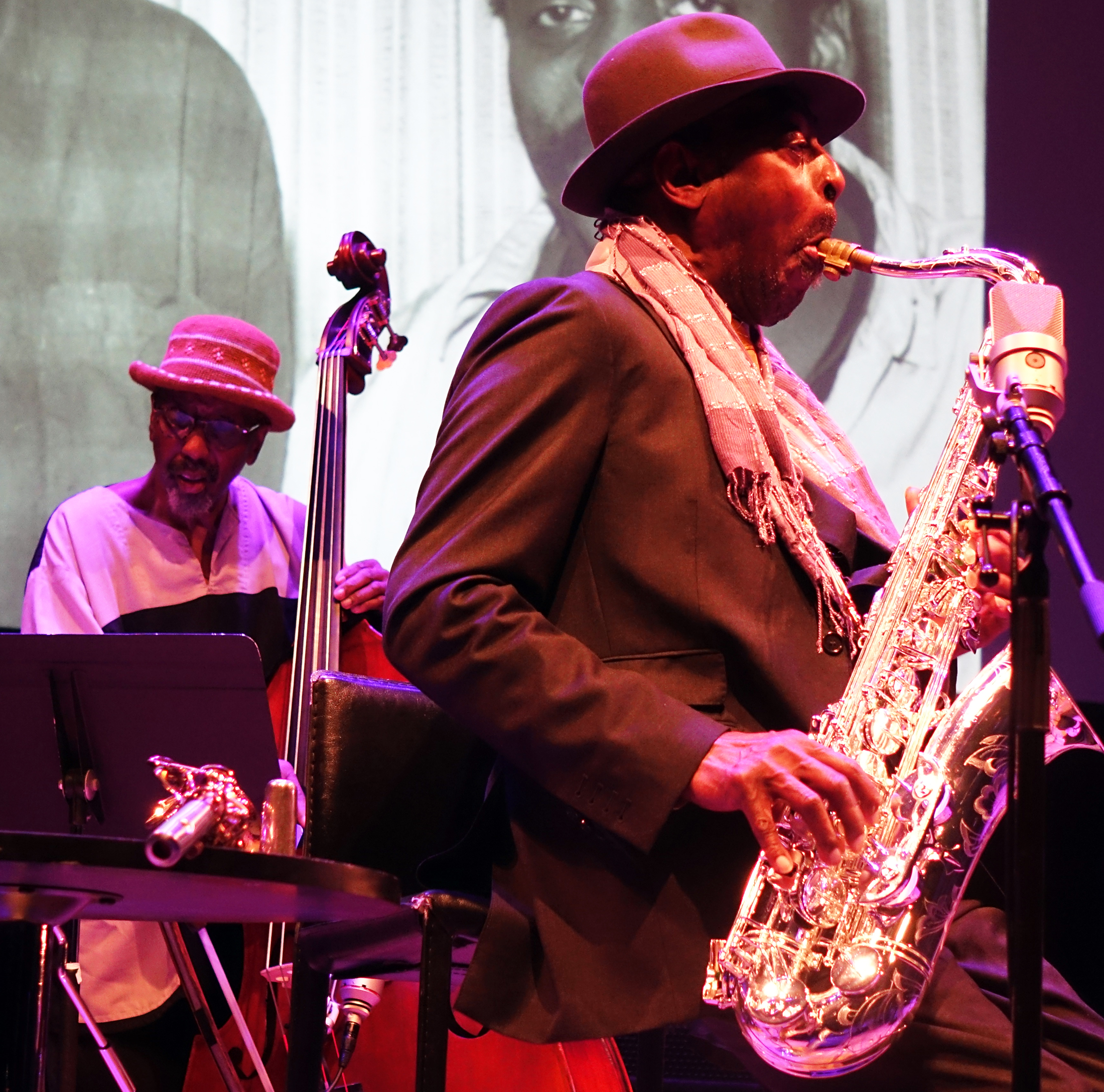 William Parker and Archie Shepp at Vision 23