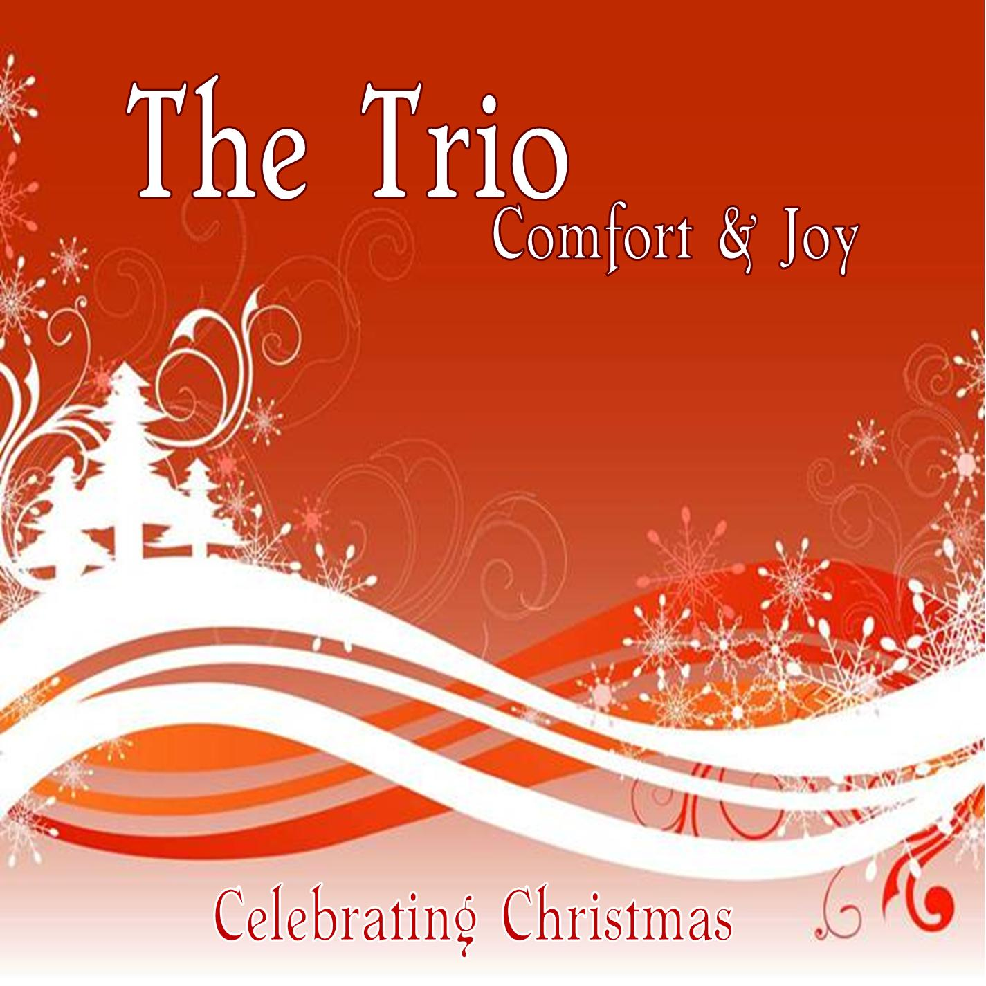 "The Trio featuring Toni Gates on Christmas album ""Comfort & Joy"""