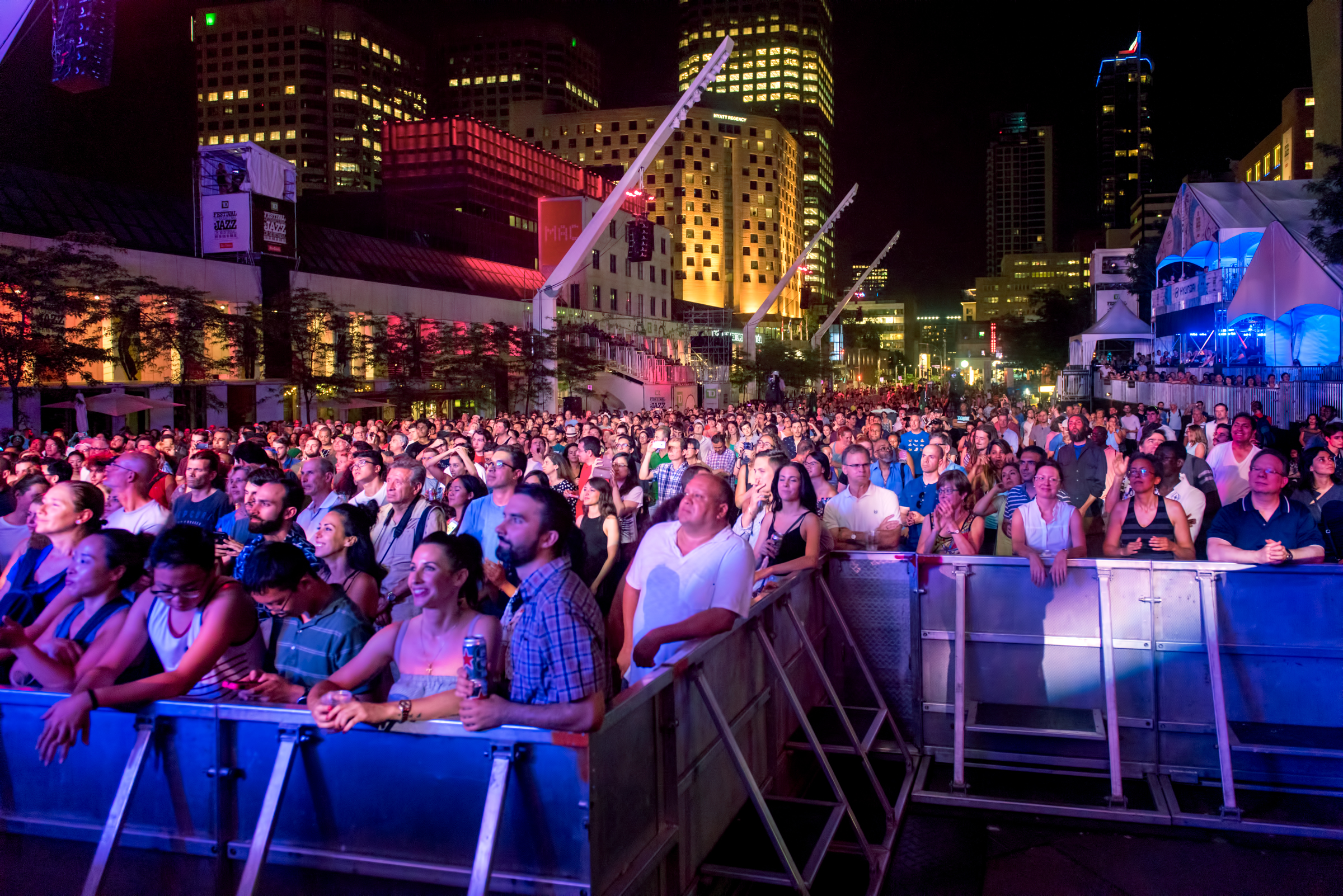 Crowd At The Montreal International Jazz Festival 2018