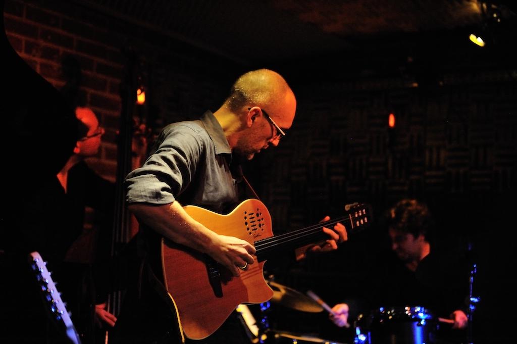 Didier Verna @-quartet live at the Sunside / Paris