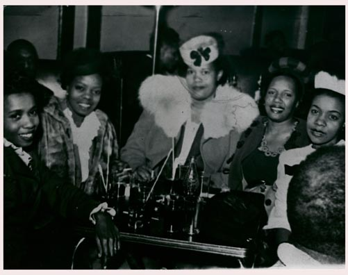 Billie Holiday at the Victory Grill?