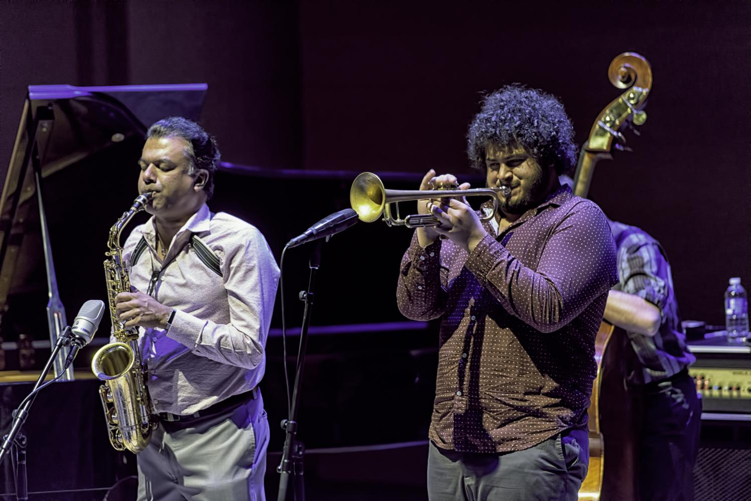 Rudresh Mahanthappa and Adam O'Farrill with Bird Calls at the Musical Instrument Museum (MIM) in Phoenix