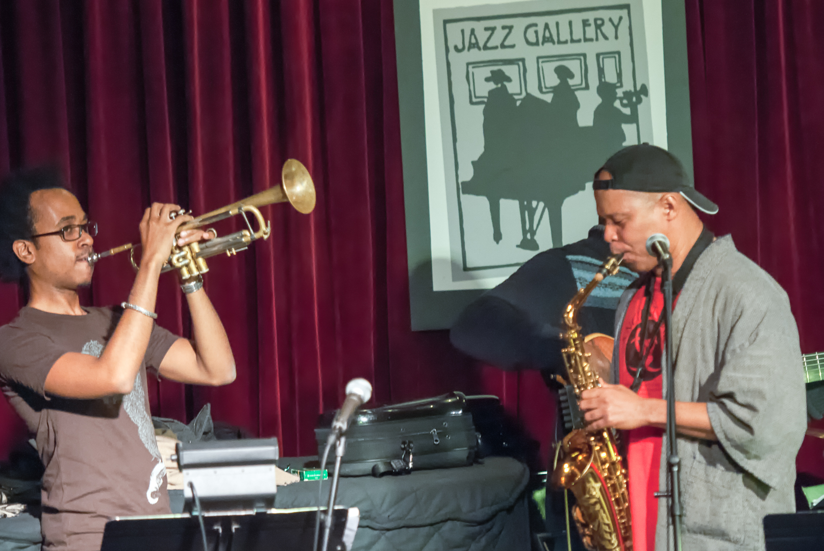 Jonathan Finlayson and Steve Coleman and the Five Elements at the Jazz Gallery