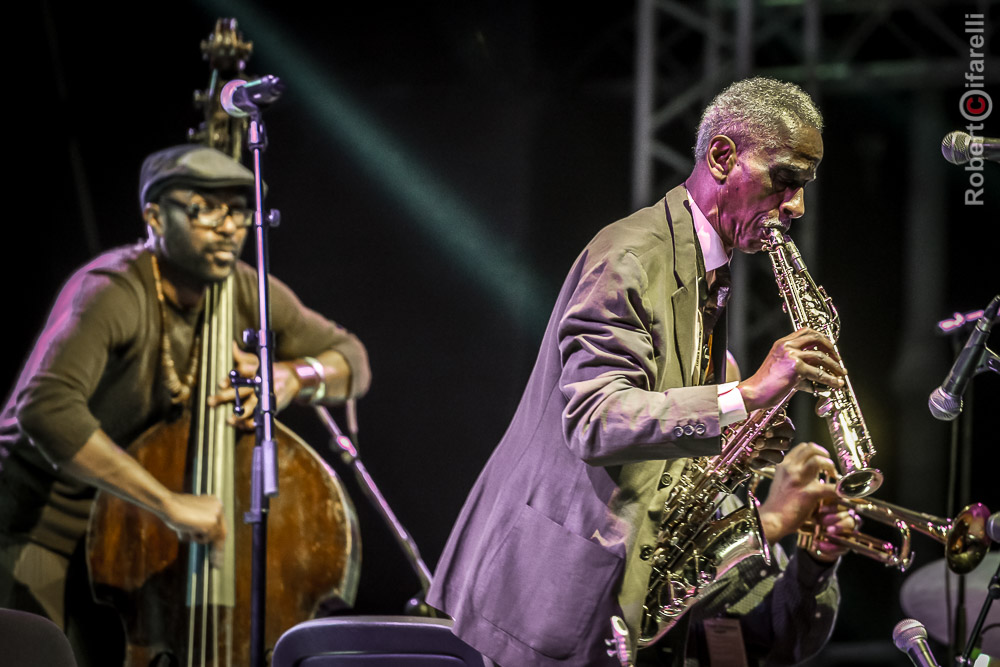 Art Ensemble of Chicago: Junius Paul, Roscoe Mitchell