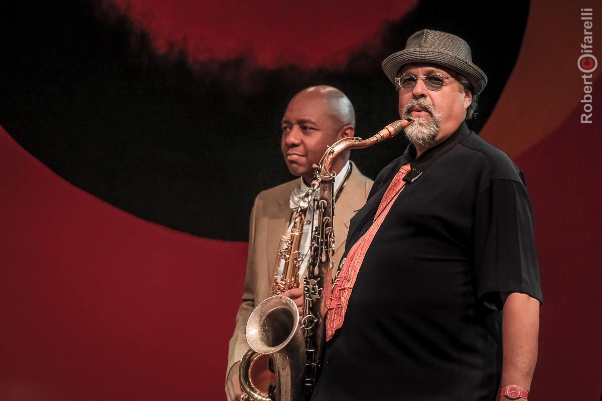 Branford Marsalis & Joe Lovano - 60th Monterey Jazz Festival, 2017