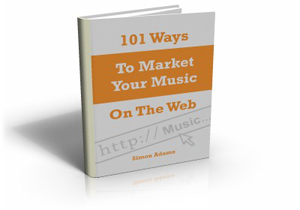 """Get 15% off the New Music Marketing Book """"101 Ways to Market Your Music on the Web"""""""