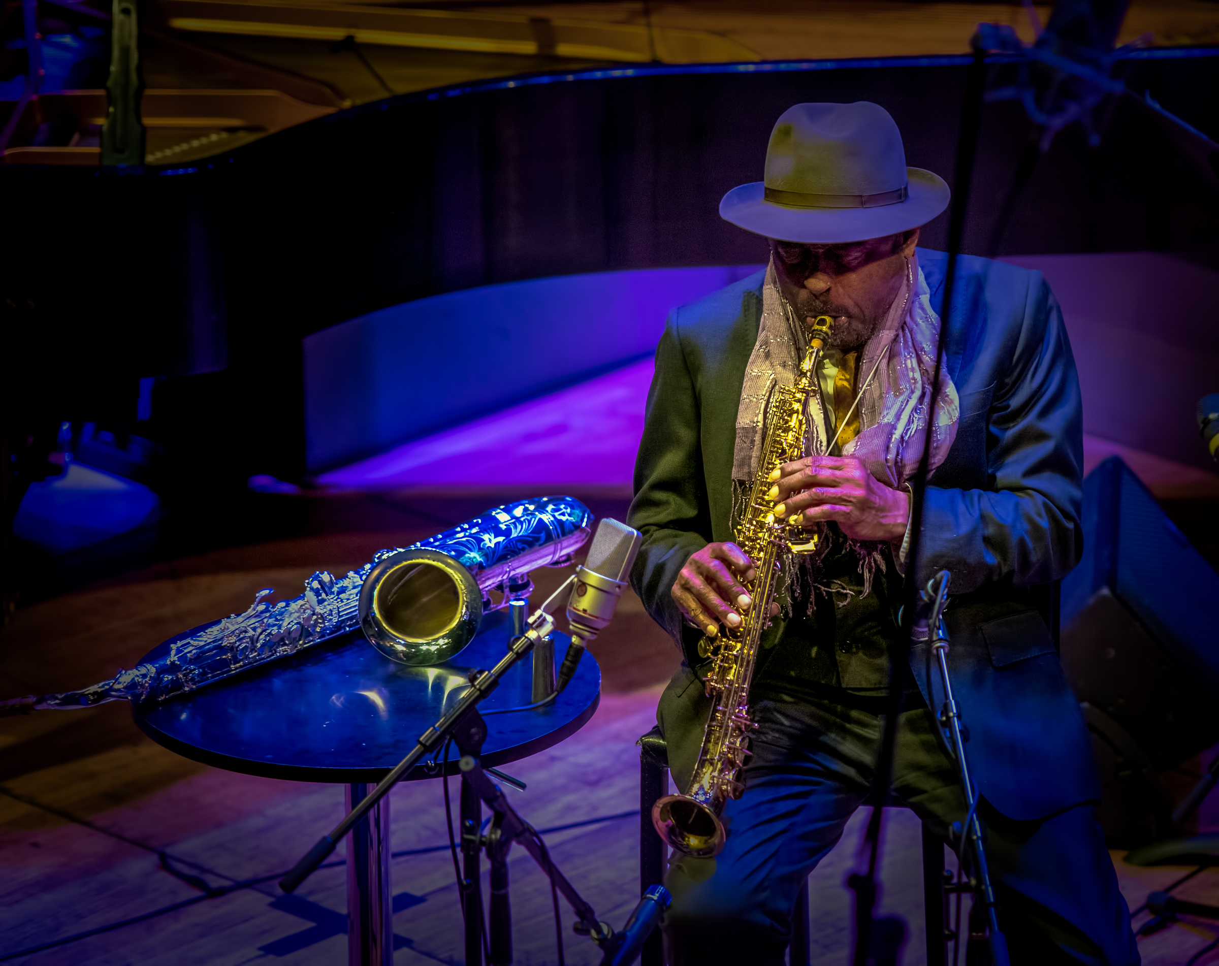 Archie Shepp With Quartet At the 2018 Vision Festival 2018