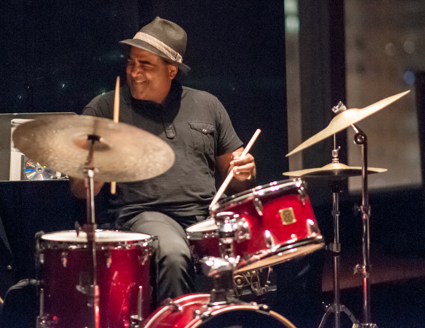 Cecil Brooks III with the Don Braden Trio at Dizzys