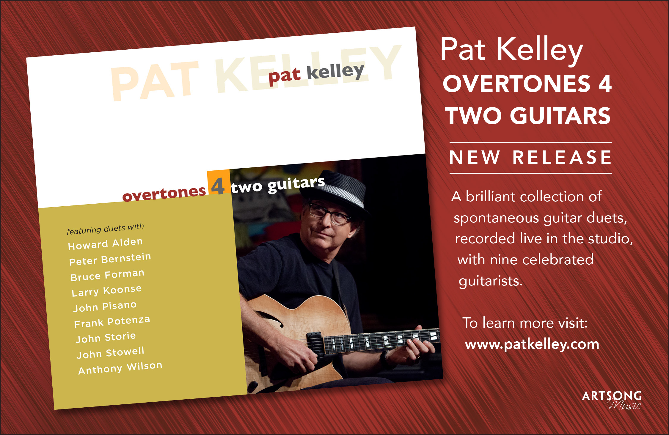 Pat Kelley with Nine Great Guitarists