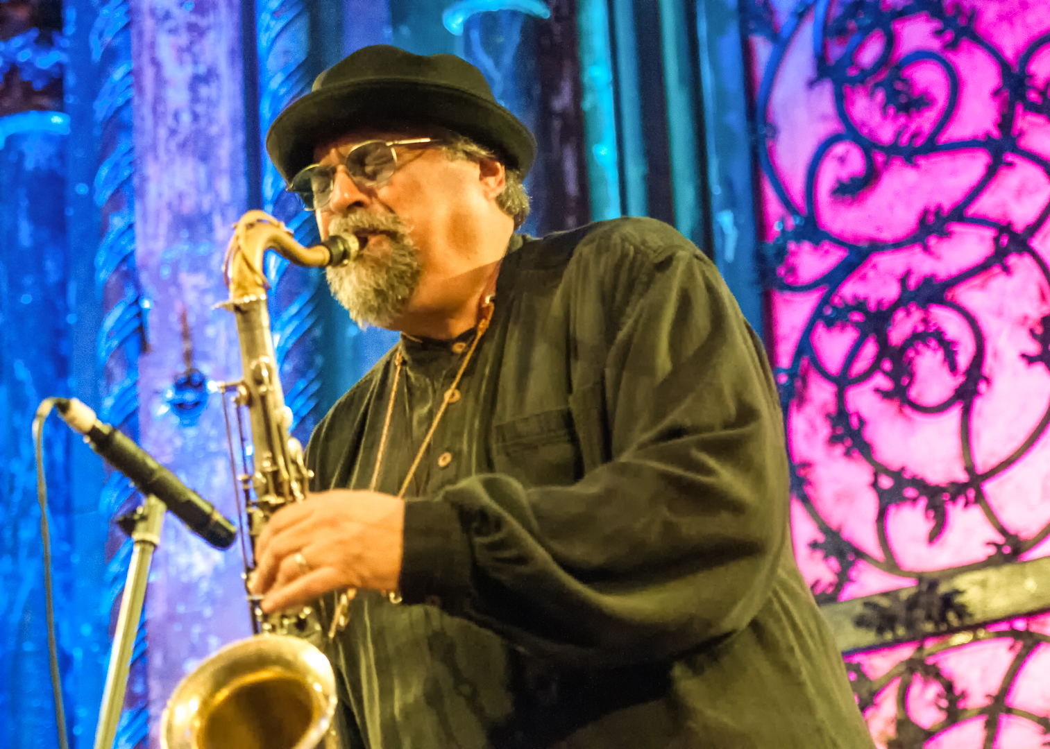 Joe Lovano at the Under_line Benefit at Angel Orensanz Foundation