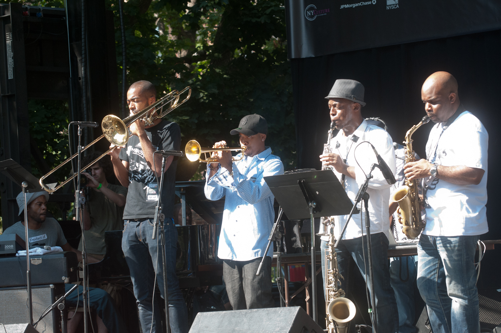 Revive Da Live at Charlie Parker Festival 2010