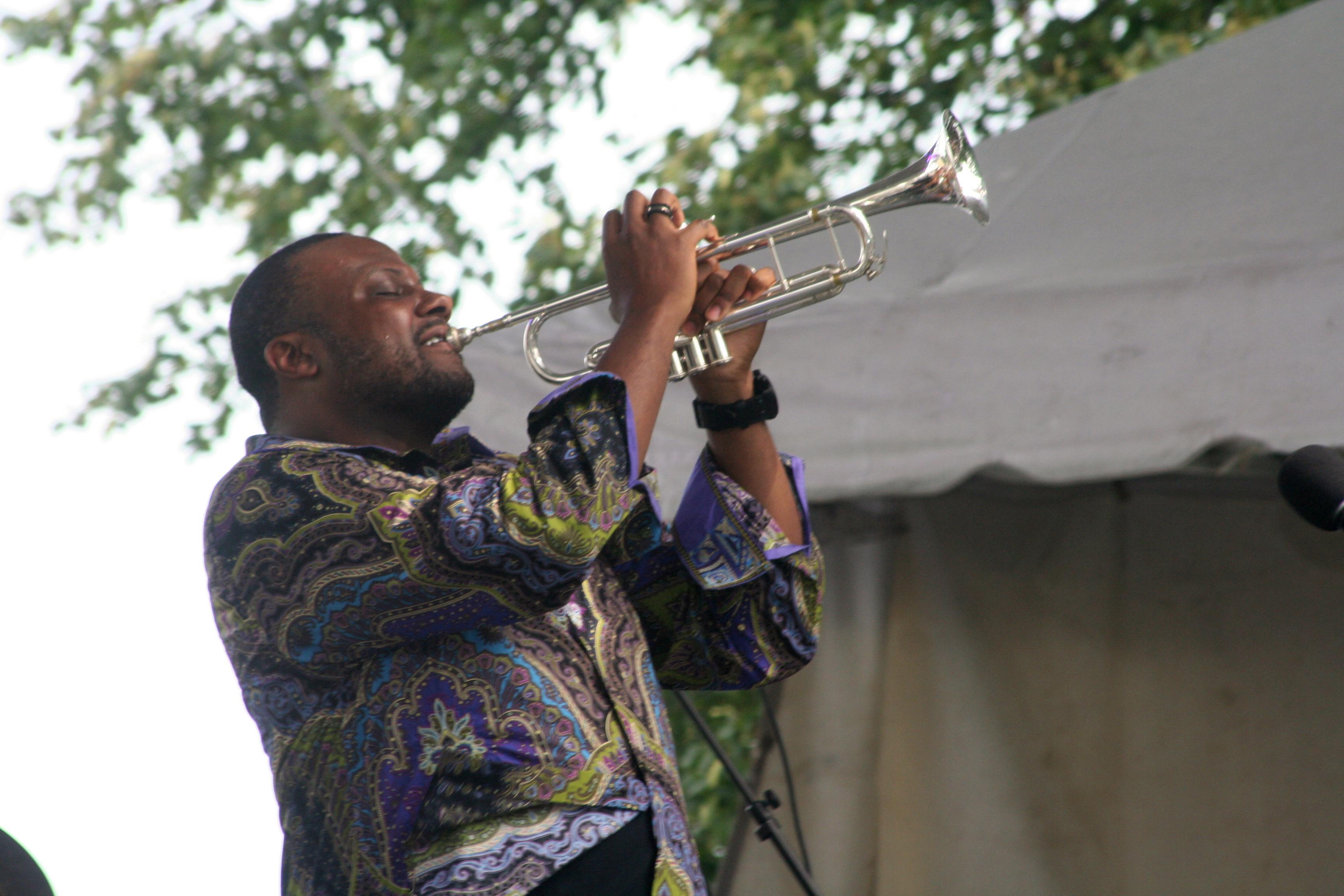 Sean Jones @ 2014 Detroit Jazzfest