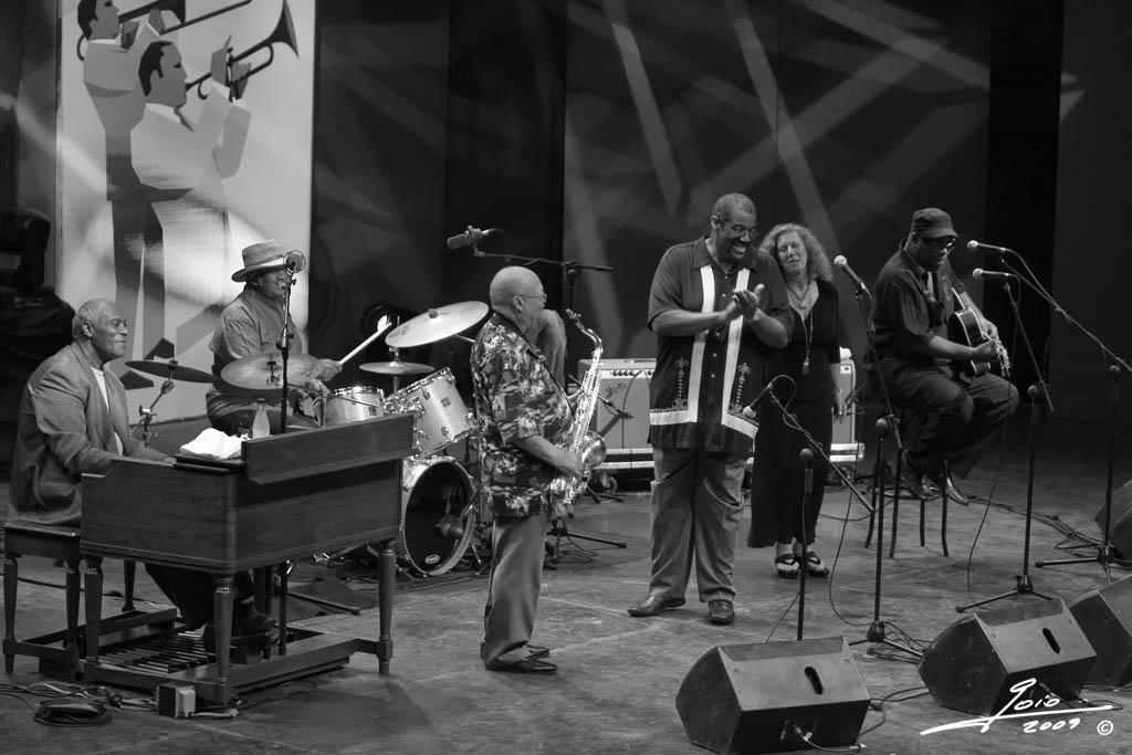 Kevin Mahogany Grupo-2009