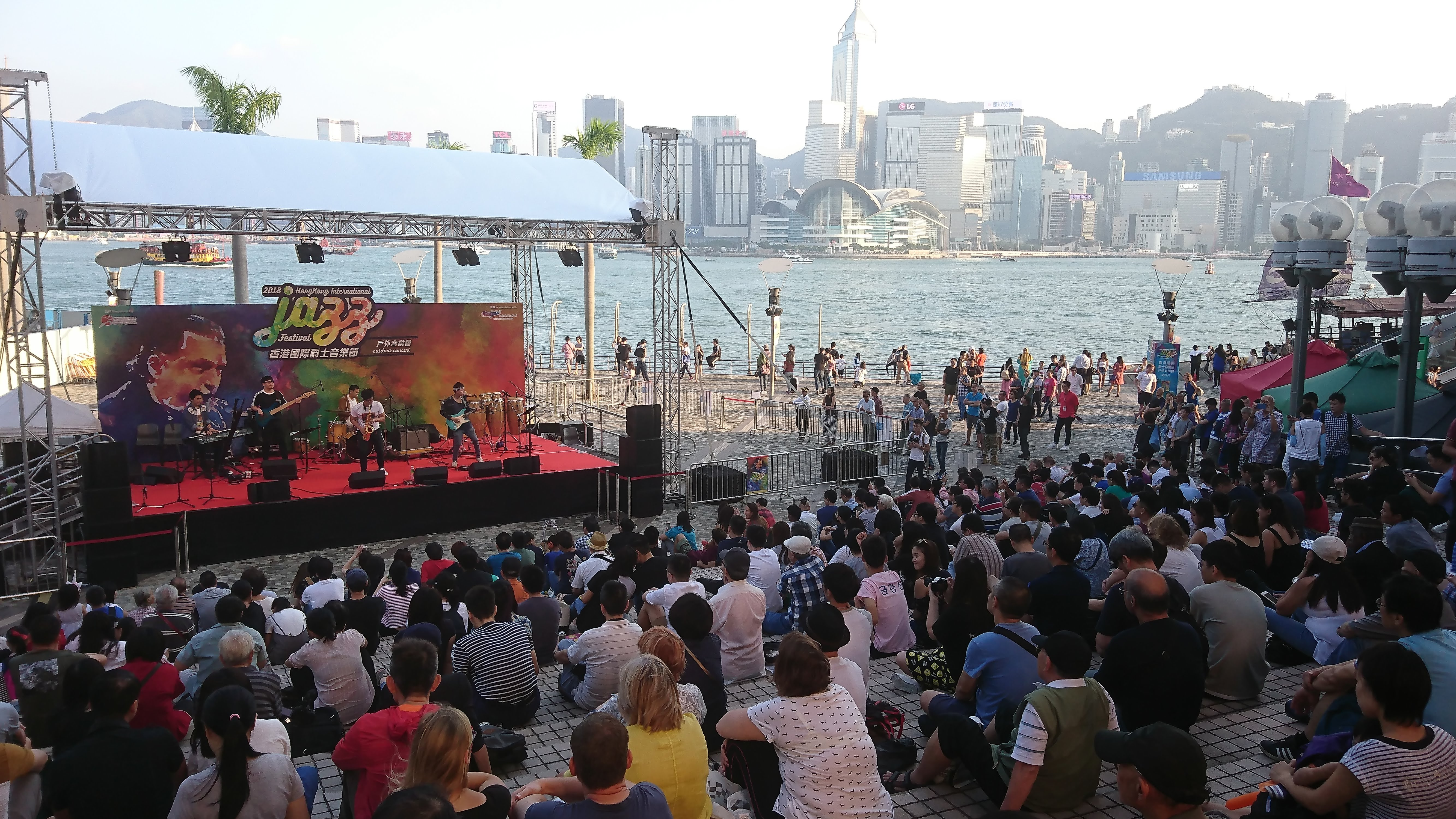 Funktion at Hong Kong International Jazz Festival. By Stephen Cheung