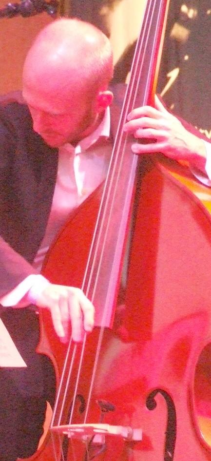 Matt Brewer with David Sanchez Quartet at 2011 Chicago Jazz Festival