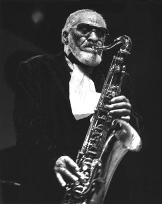 Sonny Rollins at the Monterey Jazz Festival in 1994