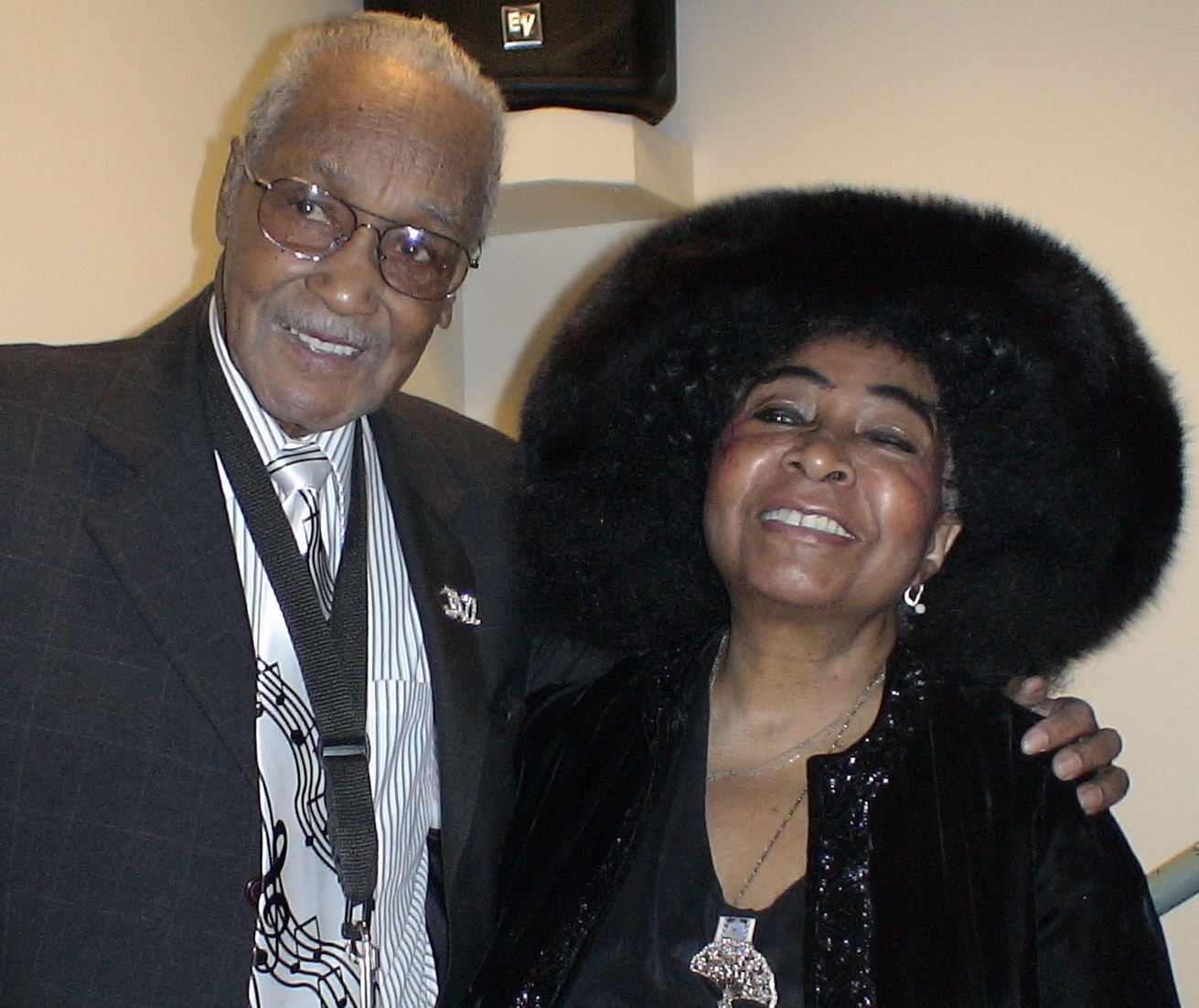 95th B'day Celebratioin for Saxophonist Fred Staton with Organist Sarah McLawler Local 802 Band Room February 15, 2010