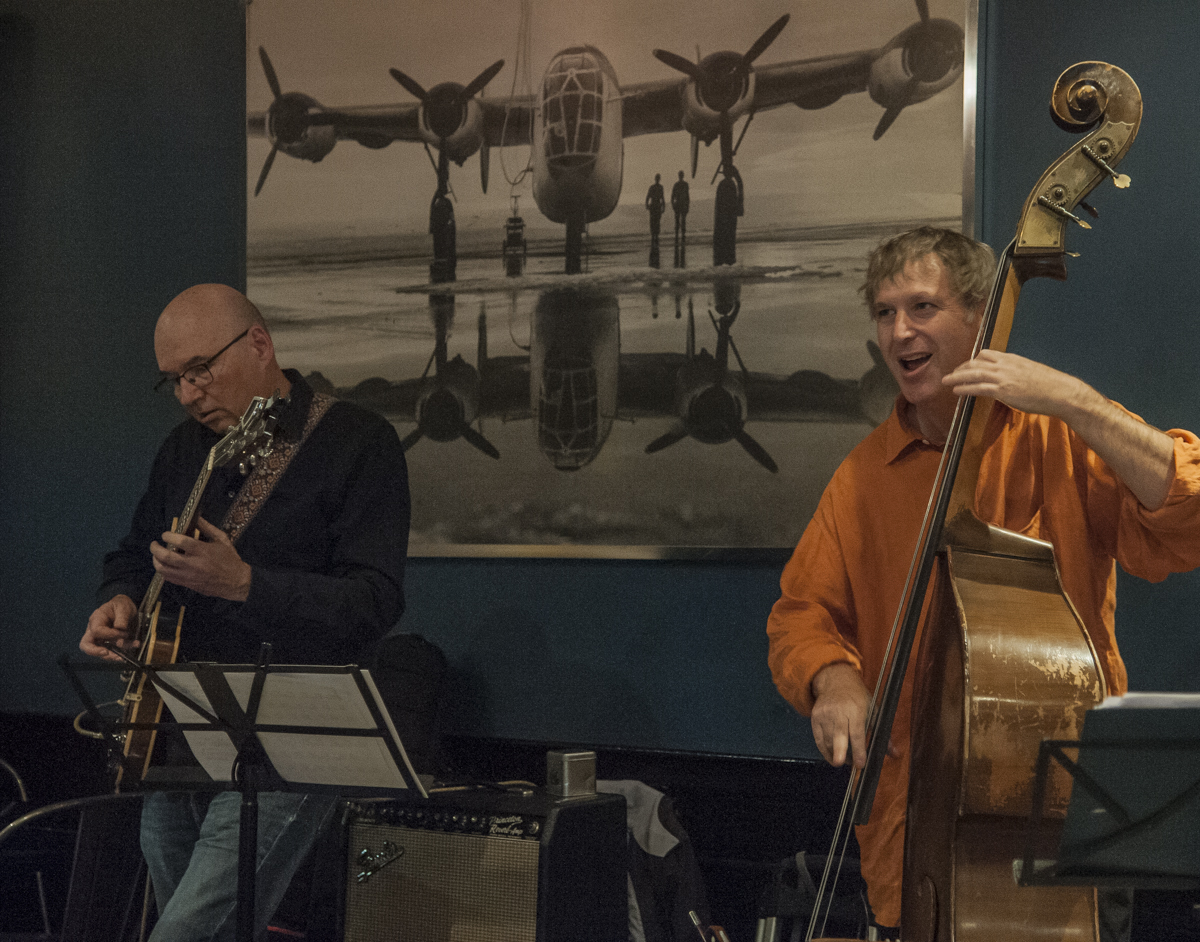 Ted Quinlan & Artie Roth - Jeff King Quartet - The Pilot - Toronto