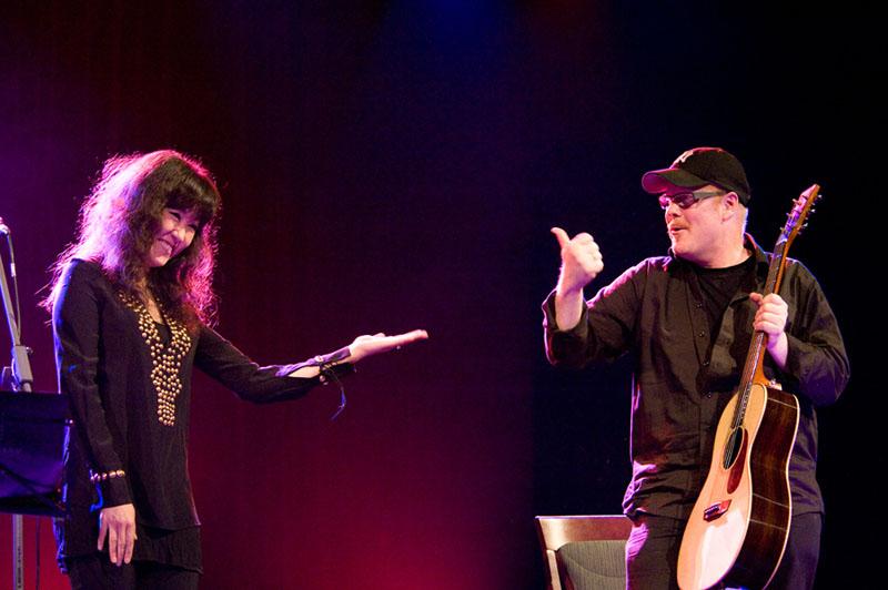 Youn Sun Nah and Ulf Wakenius Perform at Jazzkaar 2010