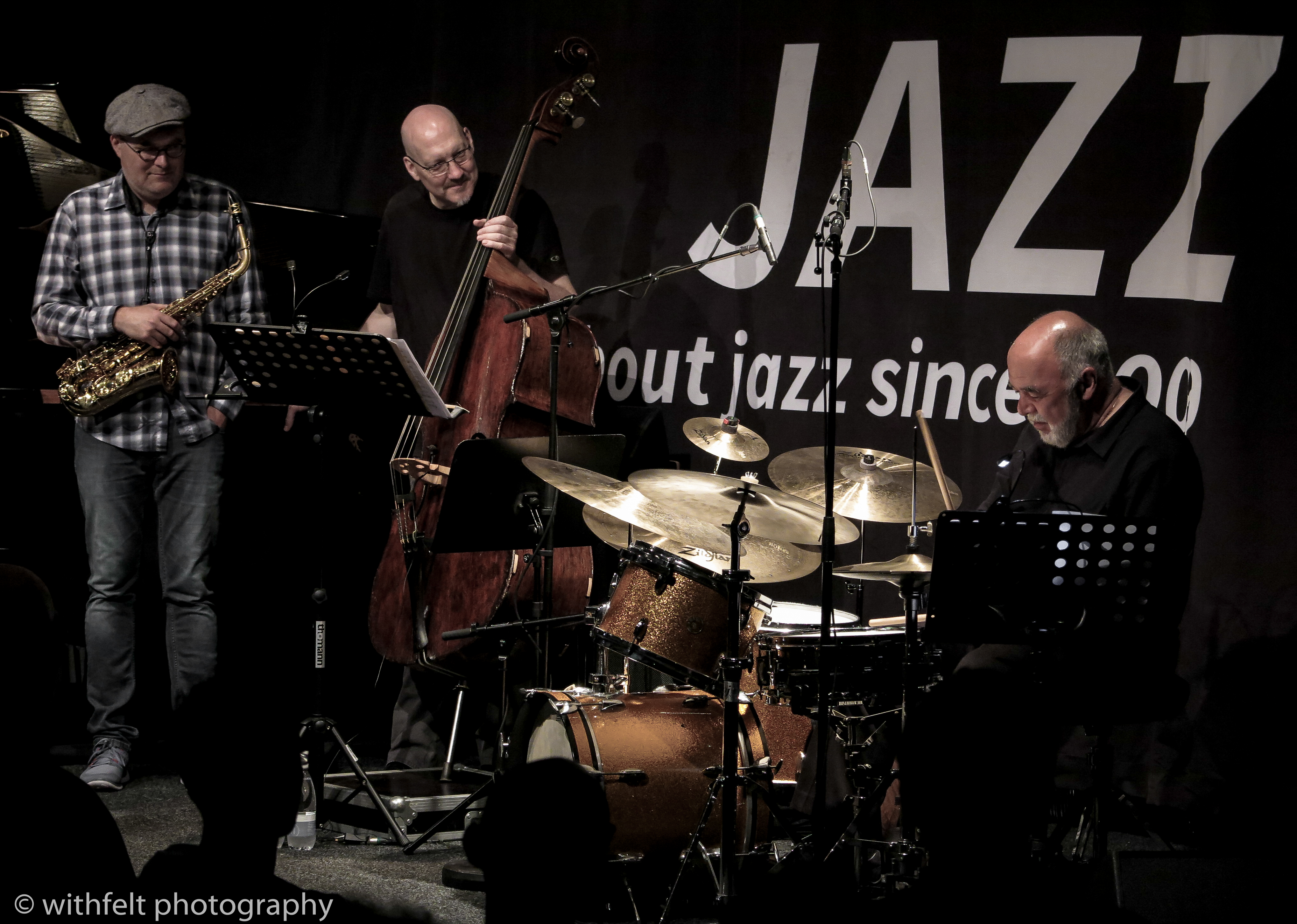Peter Erskine Scott Colley Benjamin Koppel at Summer Jazz 2017, Copenhagen Jazz Festival, Denmark
