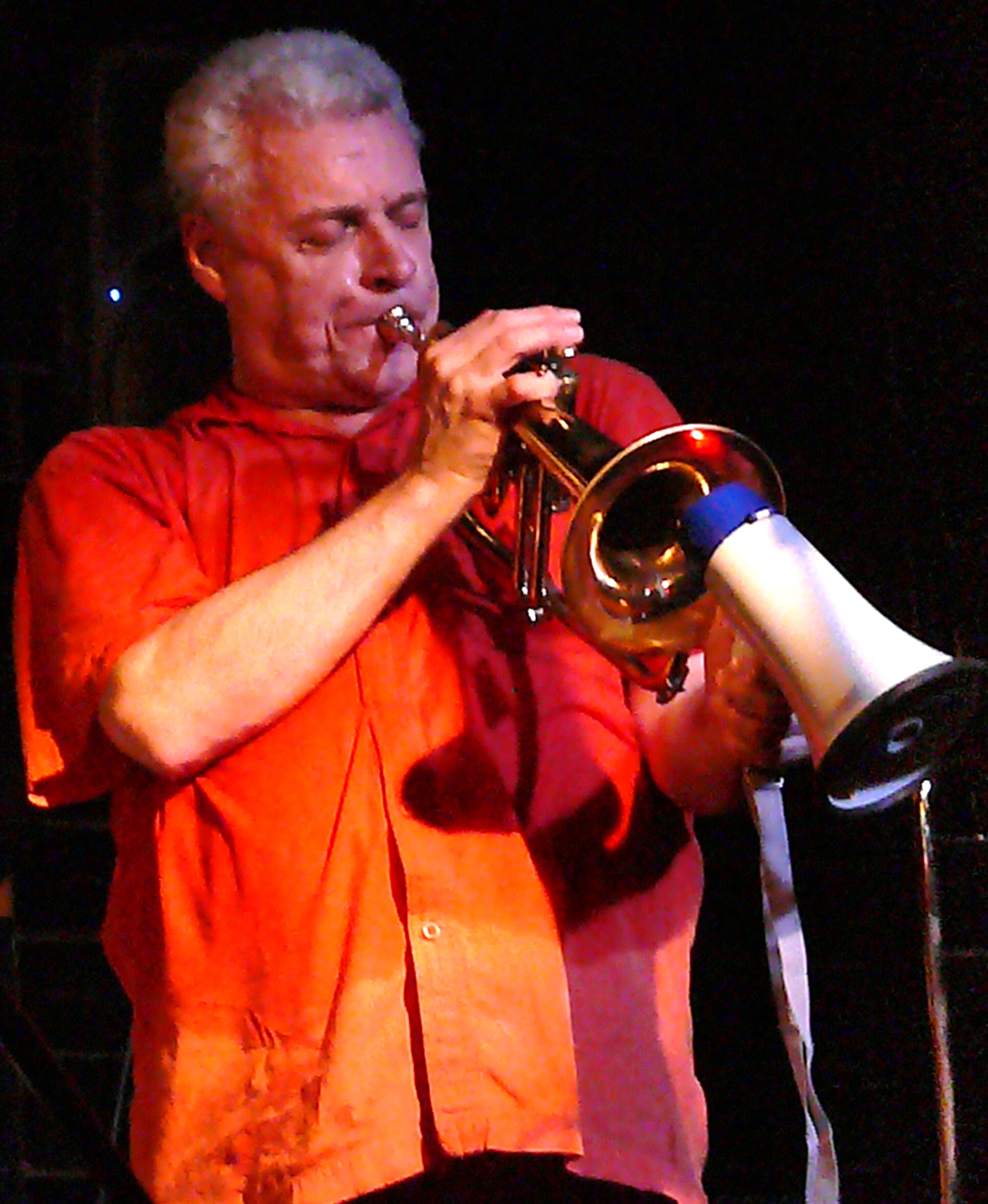Herb Robertson at Vision Festival 2010