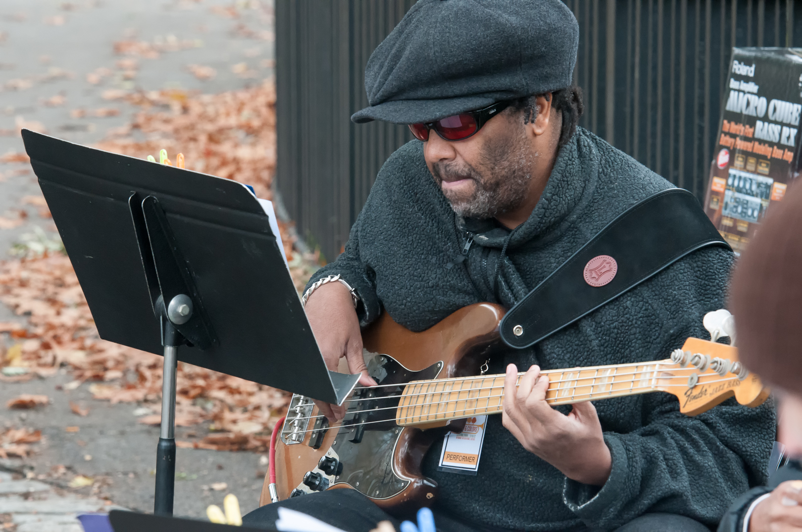 Fred Cash with Marika Hughes & Bottom Heavy at Jazz and Colors in Central Park
