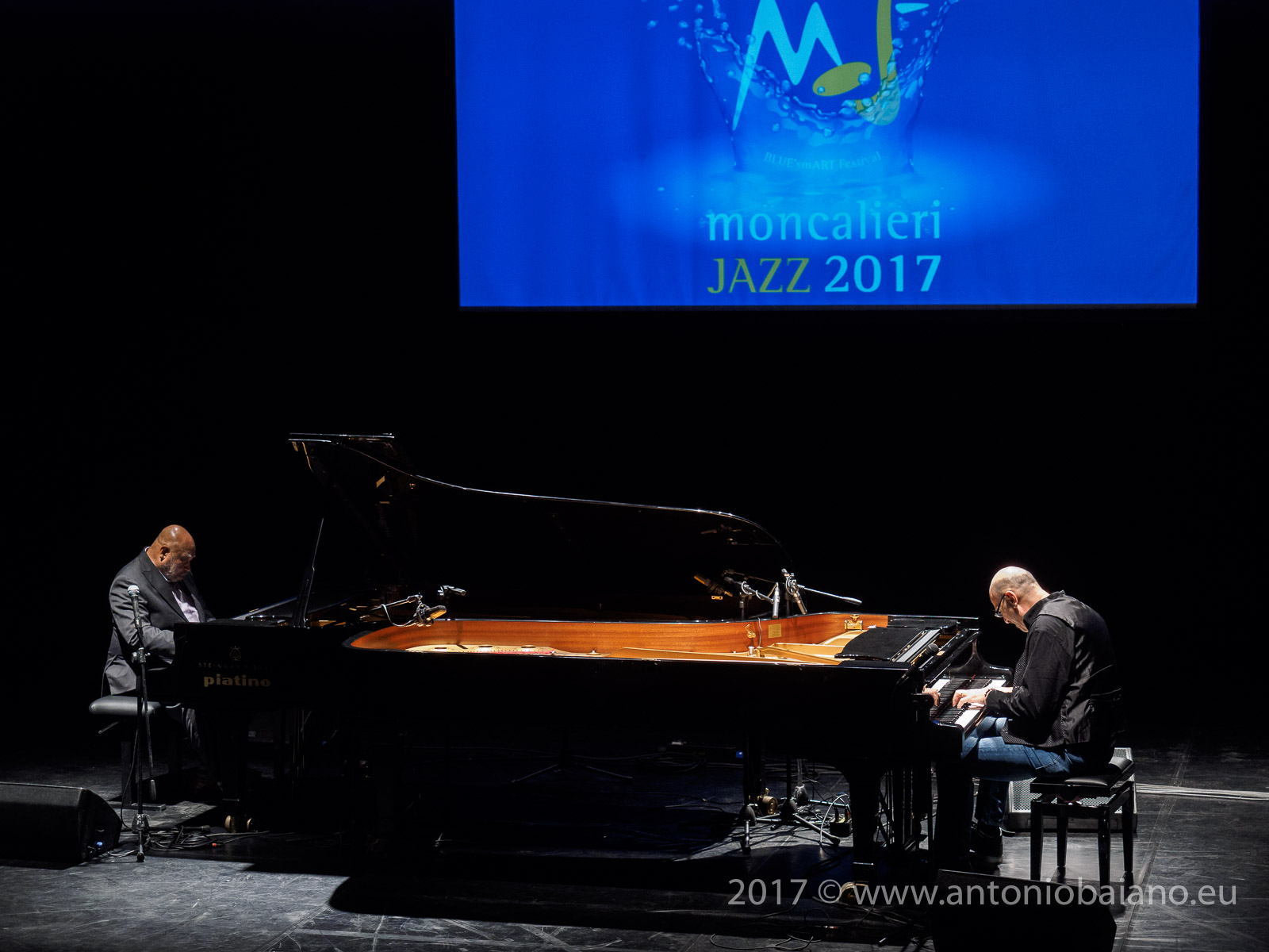Kenny Barron and Dado Moroni - 4 by Monk by 4, Moncalieri Jazz Festival