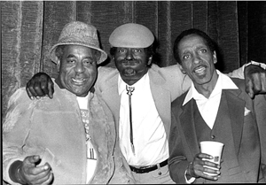 Dizzy Gillespie, Chuck Berry, Milt Jackson. Jazz Festival in the Olympic Hall Munich, 1981: Bebop, Rock'n'roll and Cool United -